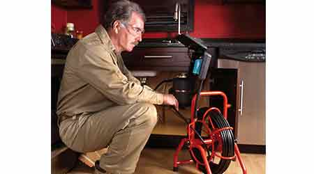 Video Inspection System Helps Ease Drain Cleaning Procedure: General Pipe Cleaners