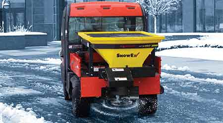 Salt Spreader Specifically Designed for UTV Use: SnowEx