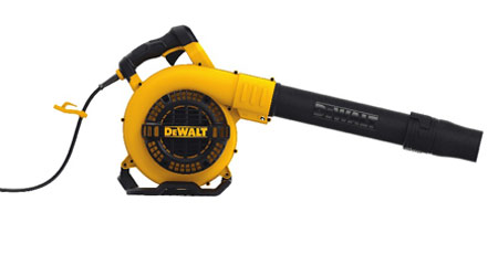 Corded Handheld Blower Eliminates Reduces Fuel Demands on Grounds Departments: DeWalt