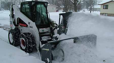 Snow Blower Attachments Offered for Skid Steers and Tractors: Loftness