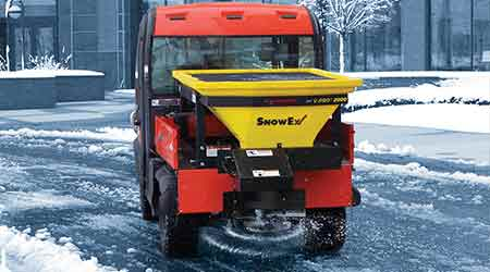 Bulk Salt Spreader Designed for Bed Dimensions of UTVs: SnowEx