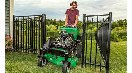 Stand-On Mower a Match for Tight Spaces, Urban Areas: Bob-Cat