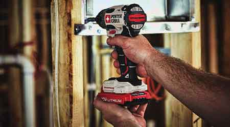 Lithium Ion Brushless Impact Driver Joins Tool Family: Porter Cable