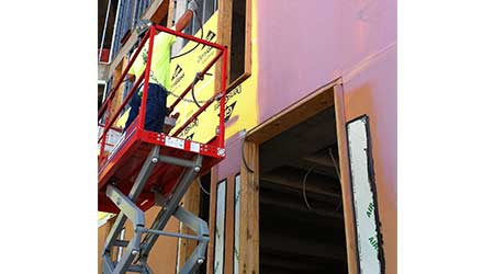 Liquid Moisture Barrier Helps Seal Wall System: W.R. Meadows Inc.