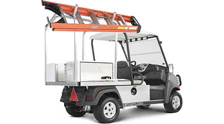 Carryall Vehicle Comes Fully Equipped To Streamline Work and Cut Costs for a Particular Task Set: Club Car