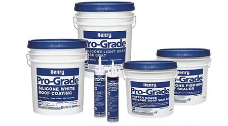 Henry Restoration Systems offer cost-effective alternatives to re-roofing: Henry