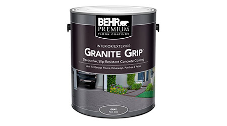Floor coating: BEHR