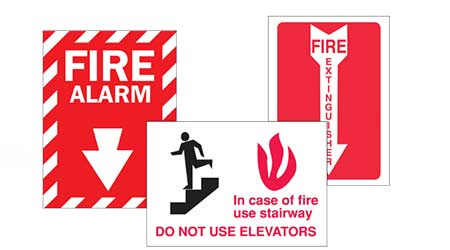Safety signs: Brady Worldwide Inc.