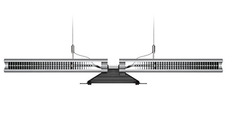 Suspended lights: Dyson