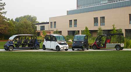 Electric utility vehicles: Polaris