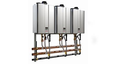 Modular hybrid boiler: Rinnai Corp.