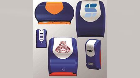 Restroom dispensers: San Jamar