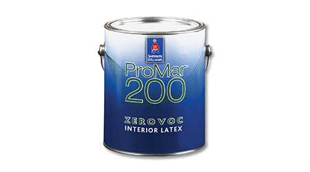 Interior latex: Sherwin-Williams