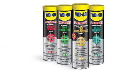 Grease lubricants: WD-40 Co.