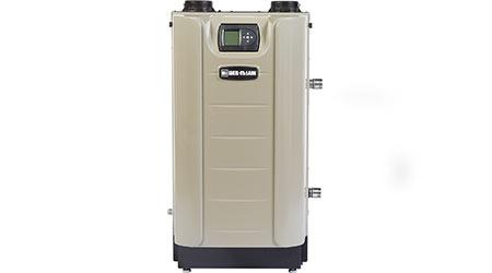 Condensing boiler: Weil-McLain