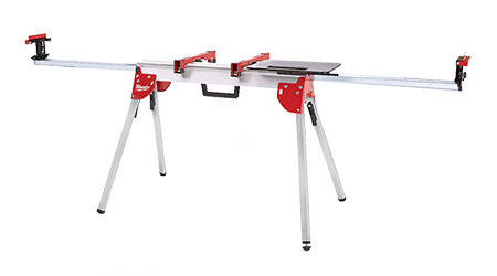 Miter saw stand: Milwaukee Tool Co.