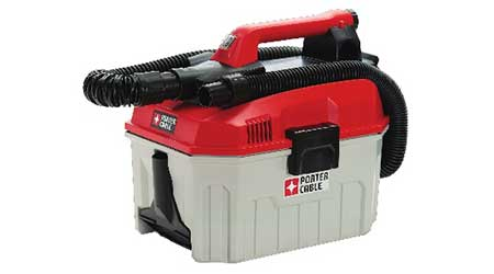 Cordless wet-dry vacuum: Porter-Cable
