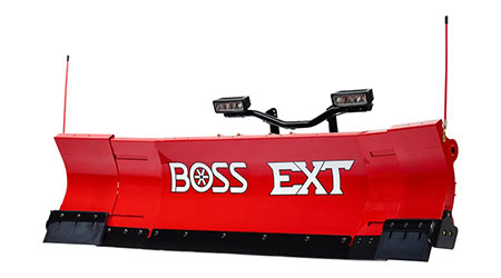 Extendable plow: Boss