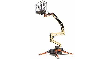 Compact crawler boom: JLG