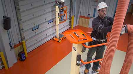 Low-level access lift: JLG