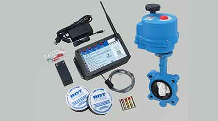 Plumbing leak protection system: Reliance Detection Technologies