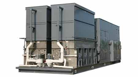 Evaporative cooled chillers: Technical Systems