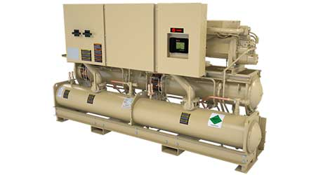 Water-cooled chiller: Trane