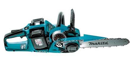 Cordless chainsaw: Makita