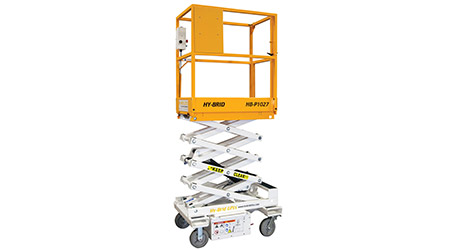 Facilities Management Elevators: Low-level scissor lift - Hy-Brid