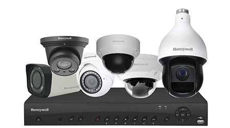 Security cameras: Honeywell