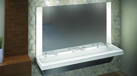 Restroom WashBar: Bradley Corp.