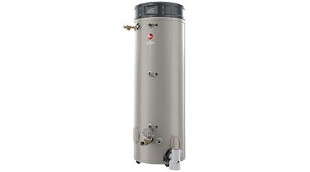 Gas water heater: Rheem