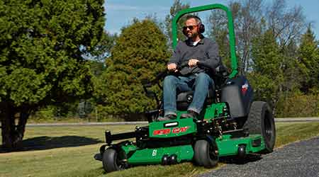 Turf mower: Schiller Grounds Care