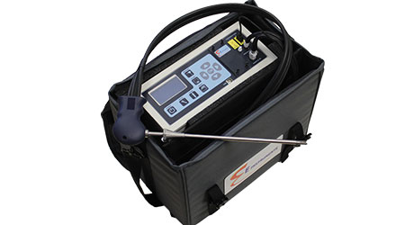 Emissions analyzer: E Instruments International
