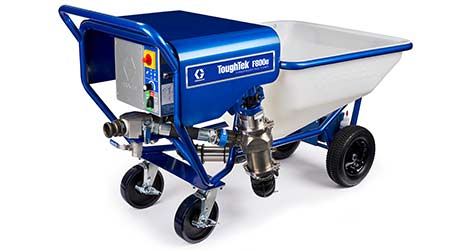 Fireproofing pump: Graco