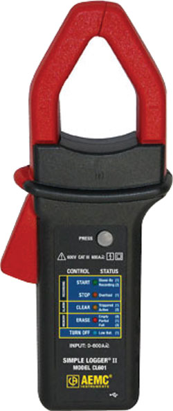 Data Logger: AEMC Instruments