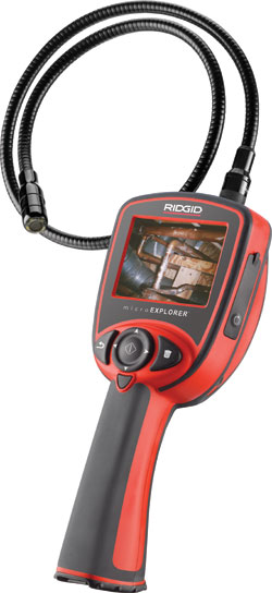 Digital-Inspection Camera: RIDGID