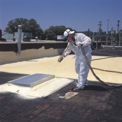 Facilities Management Roofing Foam Roofing System Basf