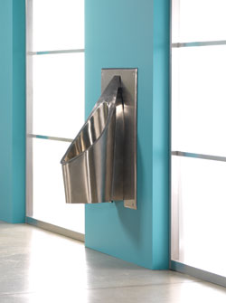Stainless-Steel Urinal: Falcon Waterfree Technologies