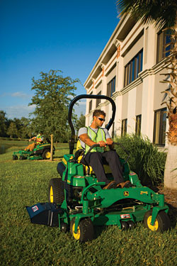 Mowing deck: John Deere Co.