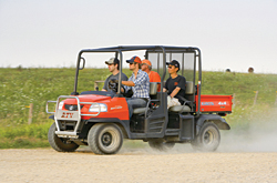 Four-Person Utility Vehicle: Kubota Tractor Corp.