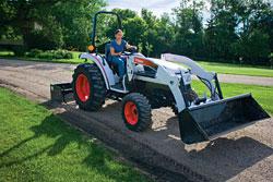 Compact Tractors: Bobcat Co.