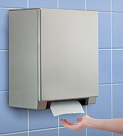 Paper-Towel Dispenser: Bobrick Washroom Equipment Inc.