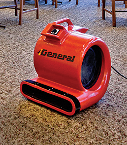 Carpet Dryer: General Equipment Co.