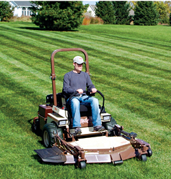 Diesel Mower: Grasshopper Co.