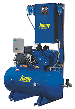 Fire-Sprinkler Air Compressor: Jenny Products Inc.