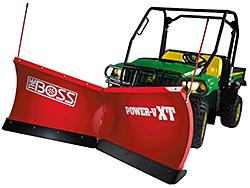 Utility-Vehicle Snowplow: The Boss Snowplow