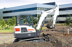 Compact Excavators: Bobcat Co.