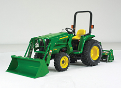 Compact Utility Tractor: John Deere Co.