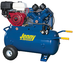 Gas-Powered Compressor: Jenny Products Inc.